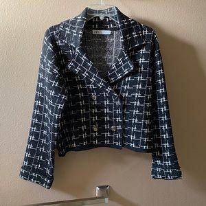 🎉HOST PICK!🎉 EUC Zara Plaid Tweed Jacket